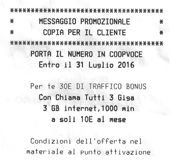 Photo of Se passi a CoopVoce entro il 31 Luglio 2016 puoi avere 30 euro di traffico bonus