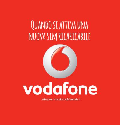 Quando si attiva una nuova scheda ricaricabile vodafone - Vodafone porta amico ...