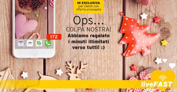 Photo of FastWeb Mobile: dalla Vigilia di Natale a Capodanno chiamate senza limiti verso tutti