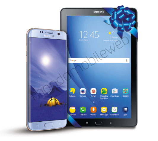 Photo of Dal 2 al 22 Febbraio 2017 Samsung Galaxy S7 e S7 Edge ti regalano un Galaxy Tab A Wi-Fi