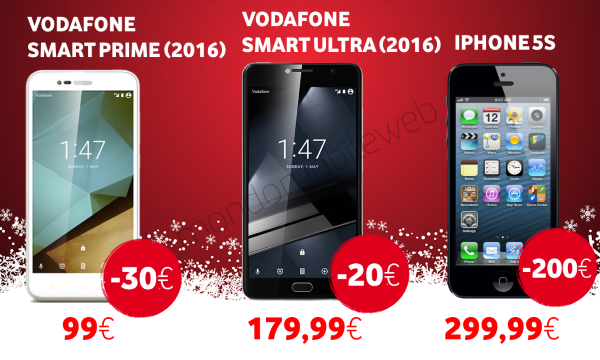 Photo of Vodafone Promo Natale: sconti su smartphone iPhone 5S e Vodafone Smart