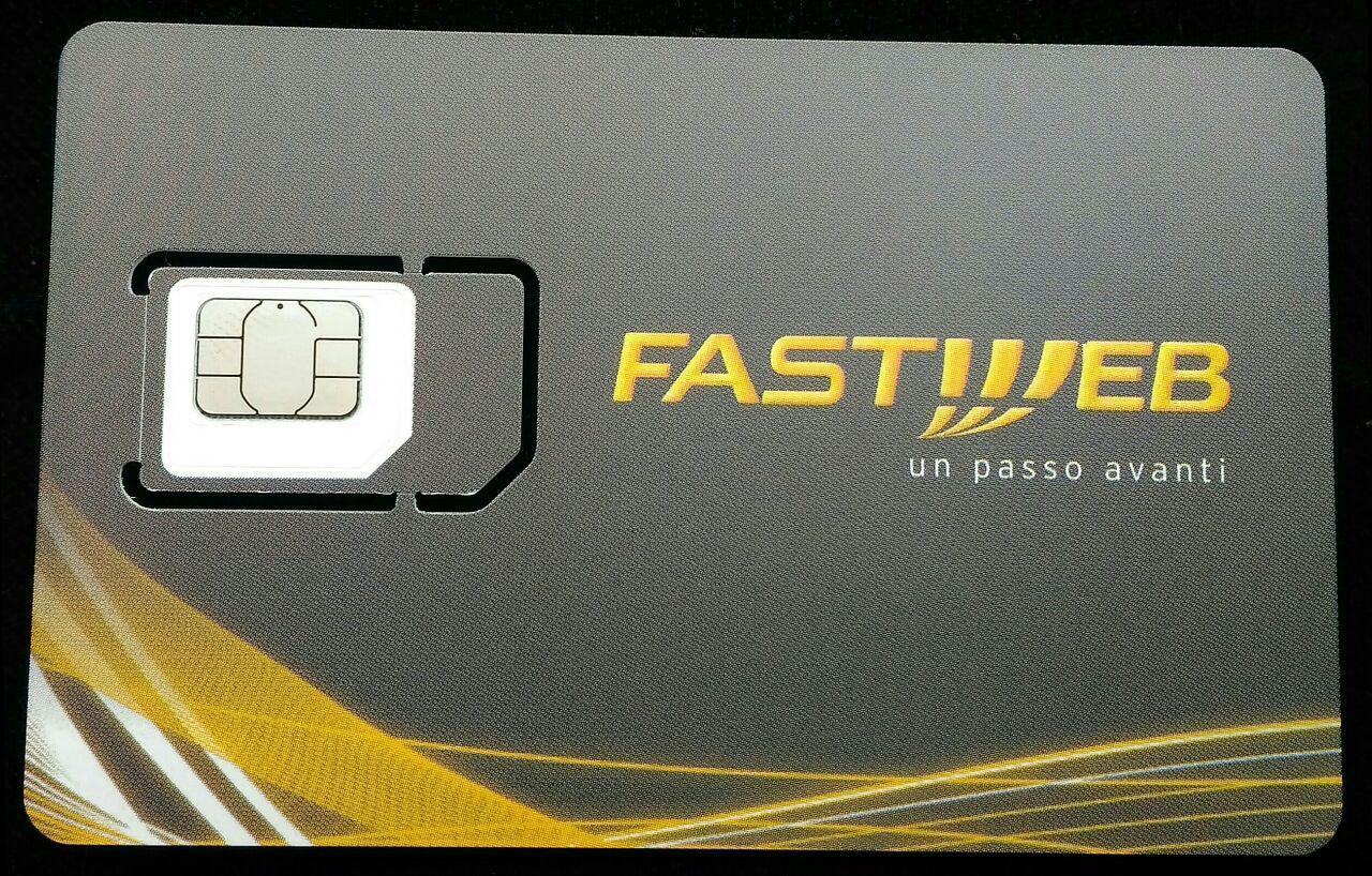 Fastweb Mobile, ecco le nuove Sim 4G e 4GPlus