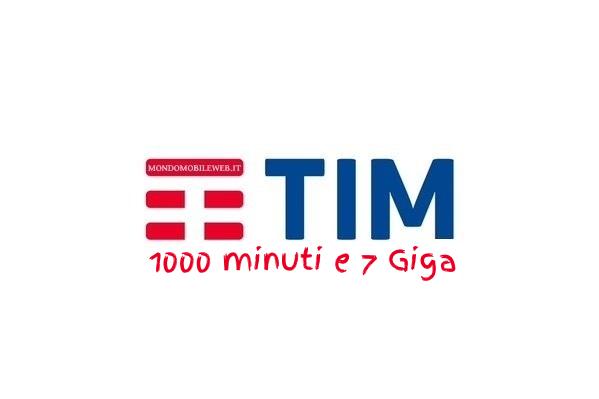 Photo of Tim Five Go con 2 Giga Gratis: 1000 minuti verso tutti e 7 Giga in 4G a 7 euro ogni 4 settimane
