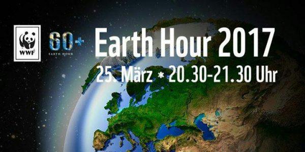 Sabato 25 marzo luci spente per Earth Hour 2017
