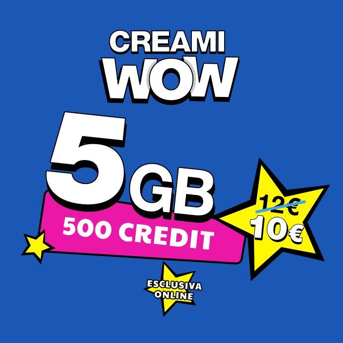 Postemobile creami wow 5gb limited edition a 10 euro ogni - Bolletta telefonica ogni 4 settimane ...