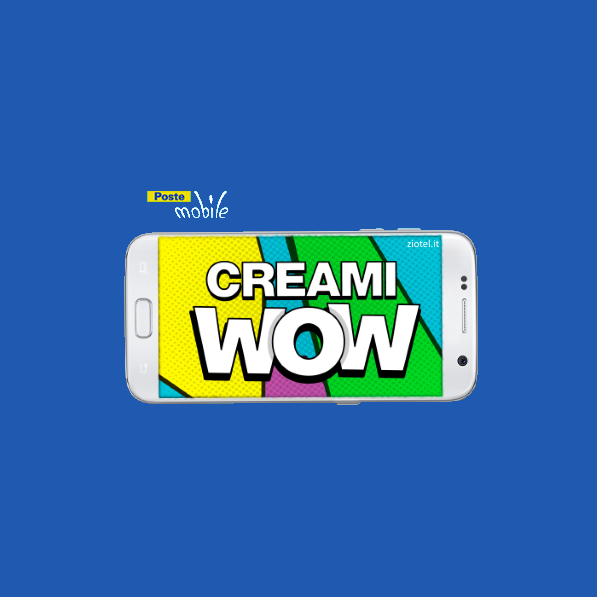 Photo of PosteMobile: Creami Wow 5GB Limited Edition a 10 euro ogni 4 settimane