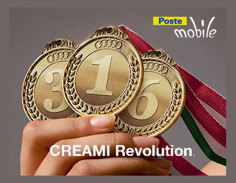 Photo of PosteMobile: prorogate fino all'8 Settembre 2018 le tariffe Creami Revolution con rinnovi ogni mese, 3 mesi e 6 mesi