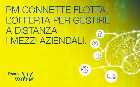 """Photo of PosteMobile: l'offerta """"Connette Flotta"""" per gestire a distanza i mezzi aziendali con il servizio IoT"""