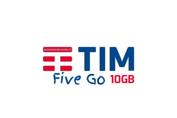 Photo of Tim Five Go 10GB: 1000 minuti e 10 Giga in 4G a 7 euro ogni 4 settimane