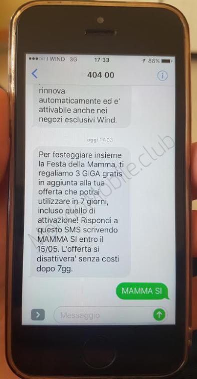 Photo of Wind regala ad alcuni già clienti 3 Giga per la Festa della Mamma