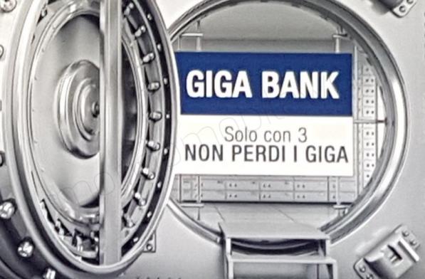 Photo of Tre: Giga Bank disponibile anche per tutti a 3 euro al mese in più