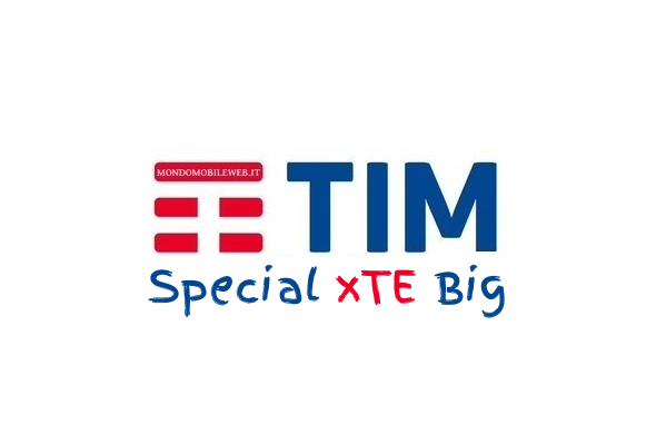 Tim Special xTe Big disponibile per i già clienti