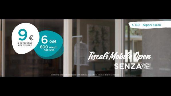 Tiscali Mobile, l'offerta si potrà personalizzare