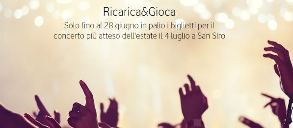 Photo of Vodafone Ricarica&Gioca per vincere i biglietti per il concerto del gruppo Coldplay