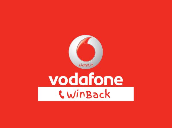 Vodafone Offerte Winback Tramite Contatto Telefonico Di