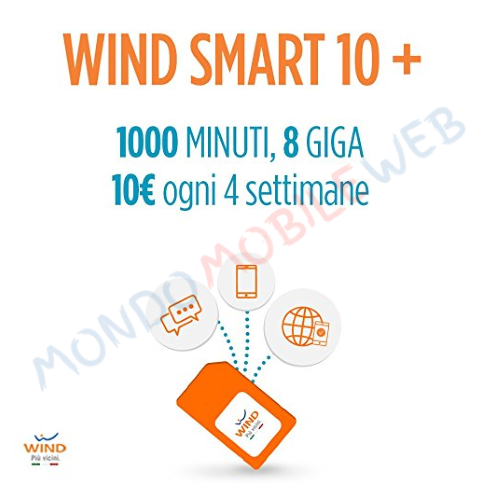 Wind nuovo prezzo per acquistare una nuova sim su amazon - Bolletta telefonica ogni 4 settimane ...
