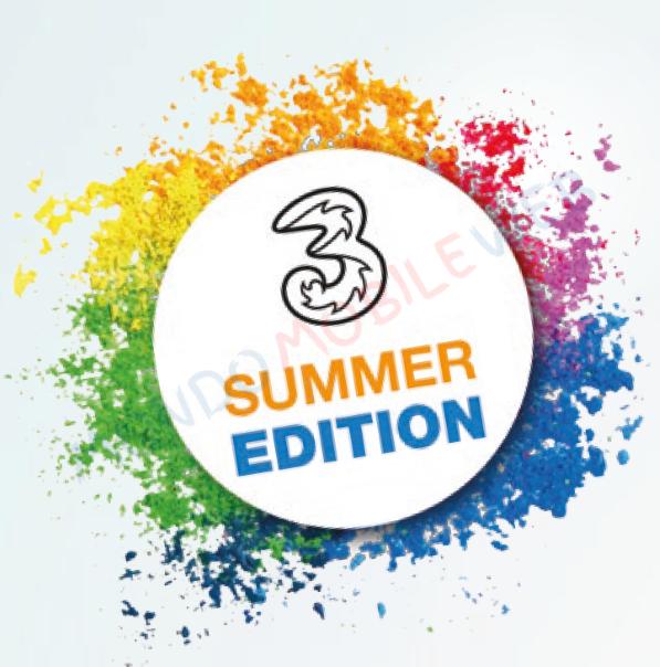 """Tre: le promo e le offerte """"3 Summer Edition"""" continuano fino al ..."""