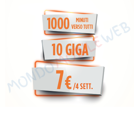 Photo of Wind Smart 7 Gold L.E. con 1000 minuti e 10 Giga in 4G a 7 euro con spedizione a domicilio