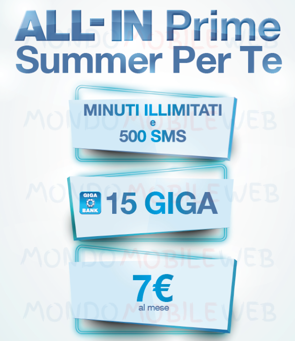 Photo of Tre: come funziona l'offerta All-In Prime Summer Per Te con minuti illimitati, 500 sms, 15GB a 7 euro al mese