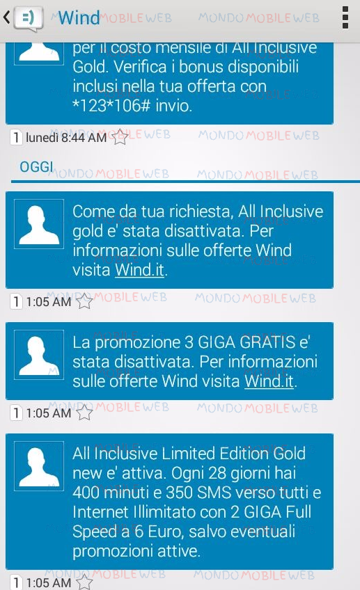 Wind: arriva l\'offerta alternativa a 6 euro per alcuni clienti All ...