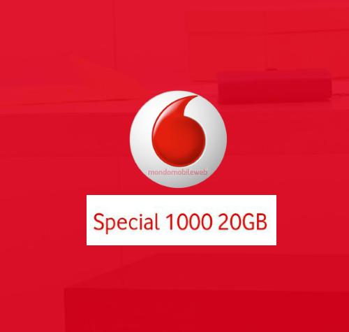 Photo of Vodafone propone l'offerta Special 1000 20GB ad alcuni suoi clienti