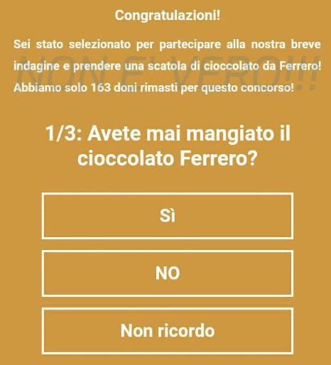 Photo of Ennesima truffa su Whatsapp: la promozione Ferrero è falsa