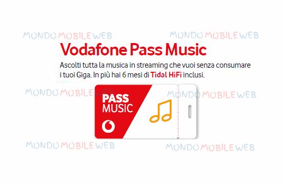 Photo of Vodafone Pass Music in promo a 2 euro per alcuni già clienti. Ascolta la musica senza consumare i Giga e Tidal incluso per 6 mesi