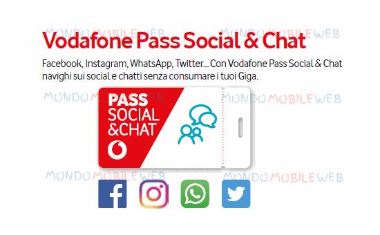 Photo of Vodafone Pass Social & Chat: gratis a tempo indeterminato se si attiva la domiciliazione SEPA SDD o Carta di Credito