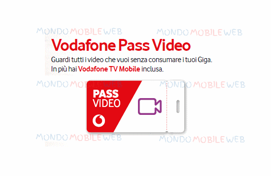 Photo of Vodafone regala ad alcuni suoi clienti Pass Video Week, per avere 7 giorni di video senza consumare Giga