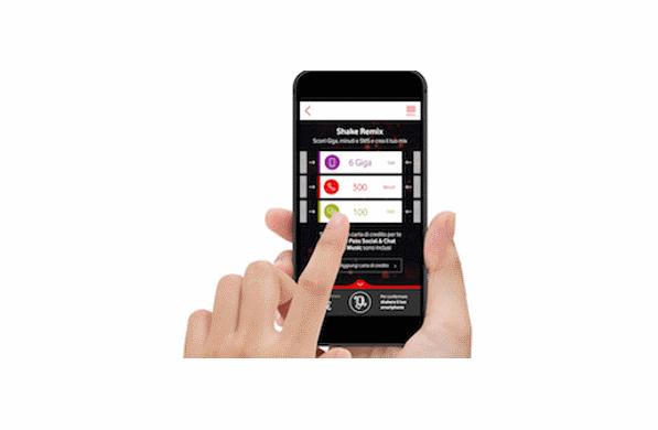 Photo of Vodafone Shake Remix Unlimited: 10GB in più per le combinazioni superiori ai 12 euro