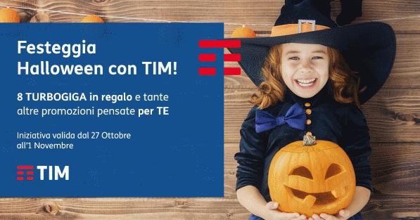 "Photo of Tim Halloween: 30 e 31 Ottobre 2017 promo ""ricarica online e vinci 1GB"""