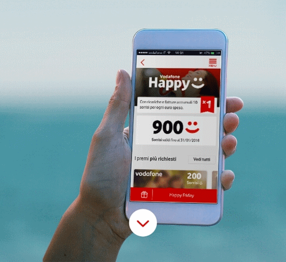 Photo of Vodafone Happy Friday del 3 Novembre 2017 regalerà 5 euro di sconto carburante da TotalErg