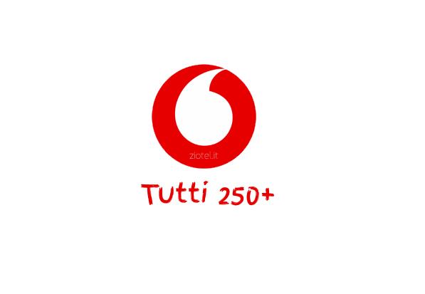 Photo of Vodafone ripropone Tutti 250+ a partire da 3 euro ad alcuni suoi clienti silenti