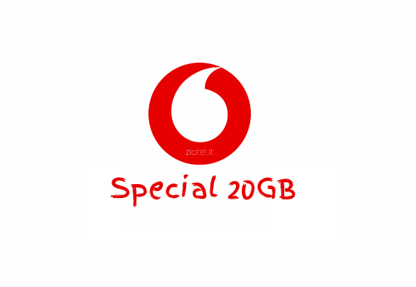Photo of [Rumors] Vodafone Special 20GB: offerta last minute a 10 euro ogni 4 settimane anche se si proviene da Tim?