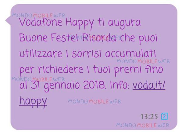 """Photo of Vodafone Happy: è possibile accumulare ed utilizzare i """"sorrisi"""" fino al 31 Gennaio 2018"""