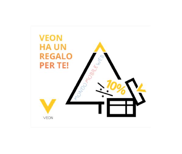 Photo of Wind: promo ricarica online +10% dall'App Veon. In più 1 Giga gratis per 28 giorni
