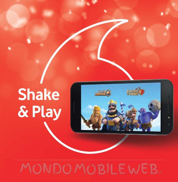 Photo of Vodafone Shake 500 MB regala fino a 3 euro di bonus da spendere per gli acquisti di monete in Clash Royale, Clash of Clan, Boom Beach e Hay Day