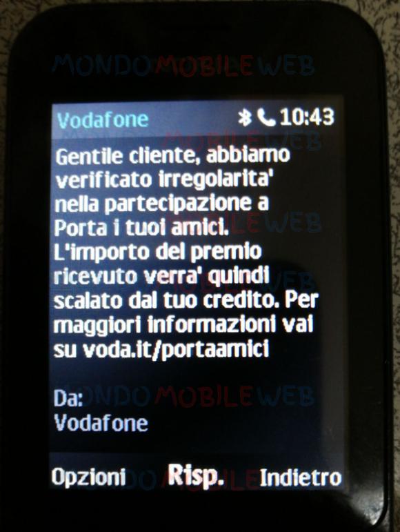 Vodafone Porta i tuoi amici