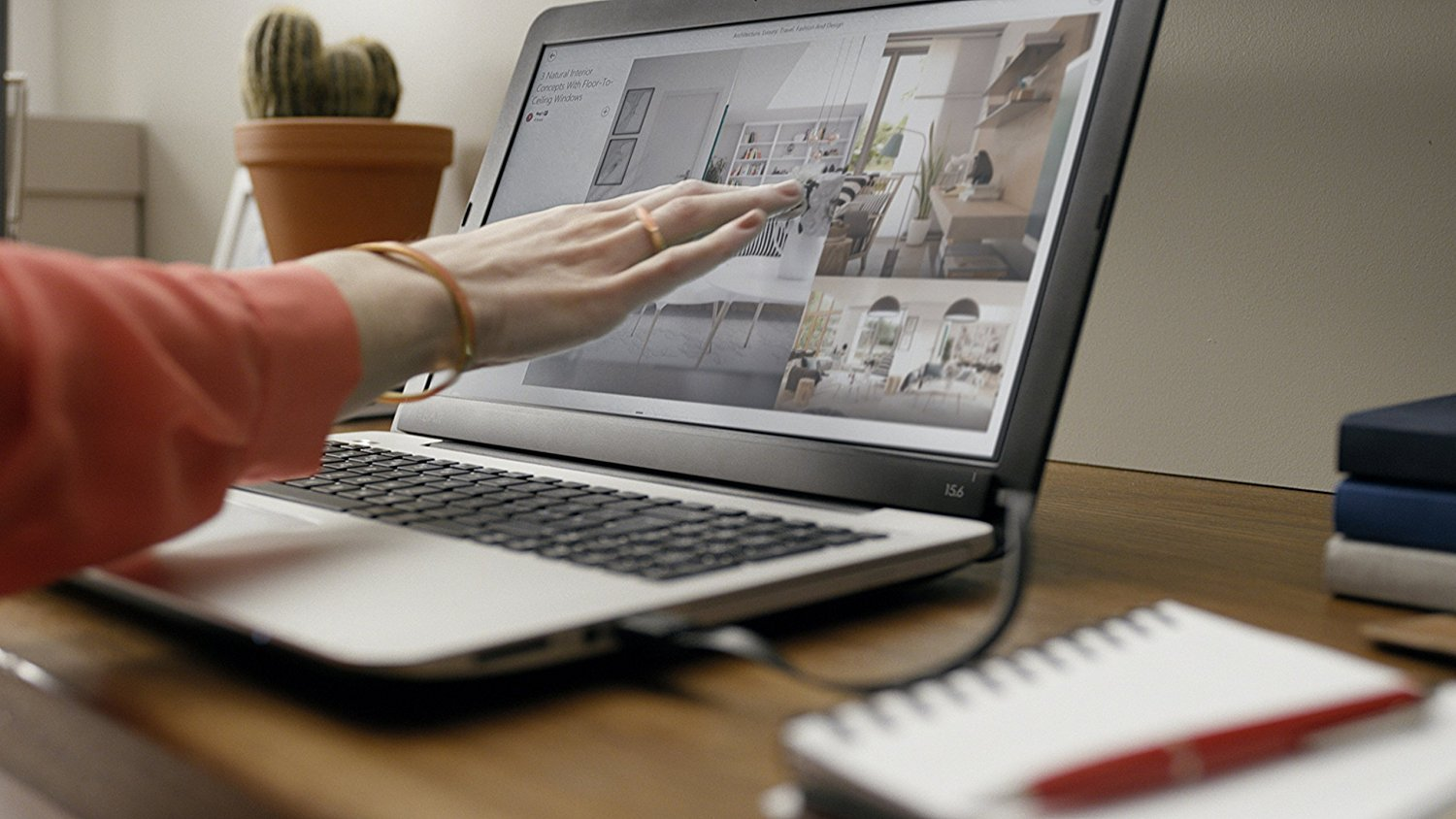 Photo of Airbar: una striscia magnetica che trasforma lo schermo del notebook in un touch screen