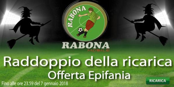 Photo of Rabona Mobile Raddoppio della Ricarica: ricarica online 20 euro per ricevere 20 euro omaggio