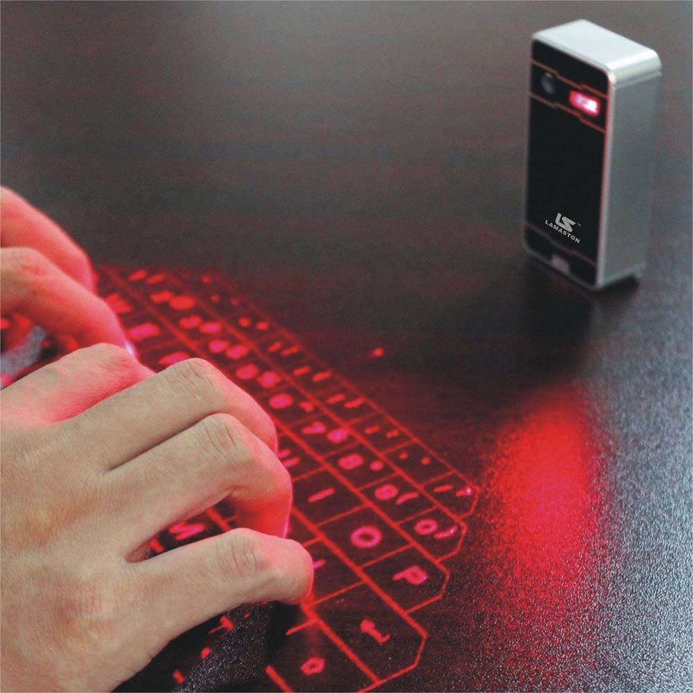 Photo of Mini tastiera laser Bluetooth virtuale, per iPhone, iPad, smartphone e tablet in offerta su Amazon
