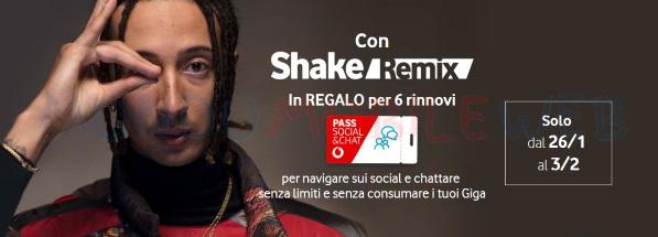 """Photo of Vodafone Shake Remix: in occasione del nuovo singolo """"Cara Italia"""" di Ghali in regalo 6 mesi di Vodafone Pass Social&Chat"""