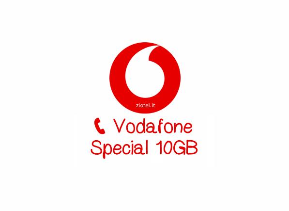Photo of Offerta WinBack: Vodafone Special 10GB per tutti i nuovi clienti con spedizione SIM e con le prime 4 settimane gratis
