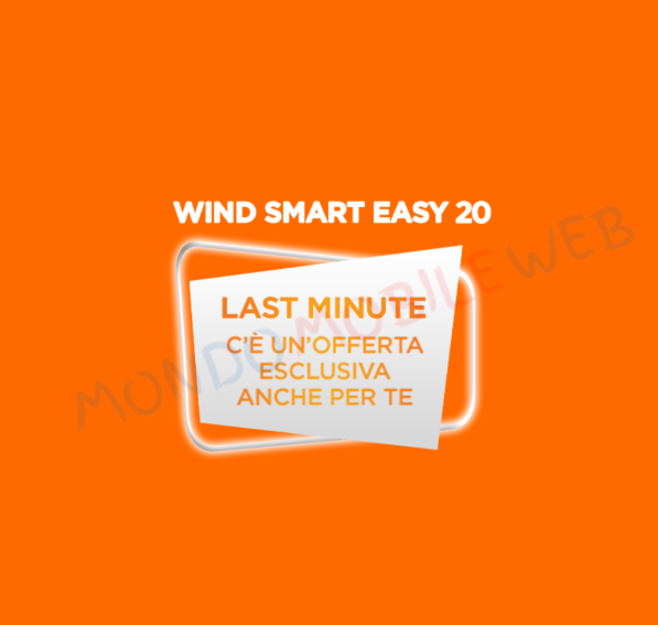 Photo of Wind proroga l'offerta speciale Smart Easy 20 con minuti illimitati e 20 Giga in 4G fino al 29 Gennaio 2018