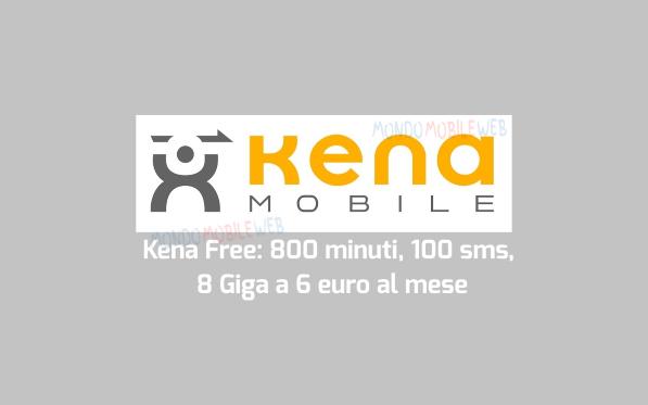 Photo of Kena Mobile conferma i suoi 350000 clienti. Continua l'offerta Kena Free con 800 minuti, 100 sms, 8 Giga in 3G a 6 euro al mese