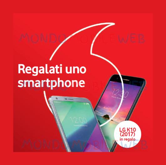 Photo of Vodafone per San Valentino regala LG K10 (2017) a chi acquista a rate LG G6 o LG V30