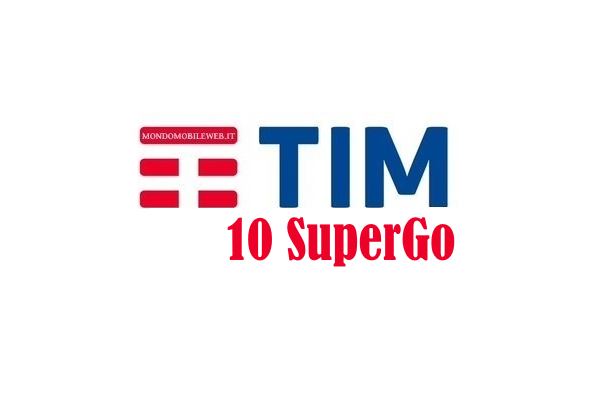 Photo of Tim 10 Super Go+7GB Gratis: 1000 minuti e 10 Giga in 4G a 10 euro al mese per 6 mesi, poi 12 euro al mese