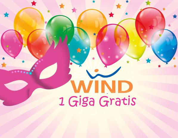 Photo of Wind festeggia il Carnevale con 1 Giga Gratis per 3 giorni