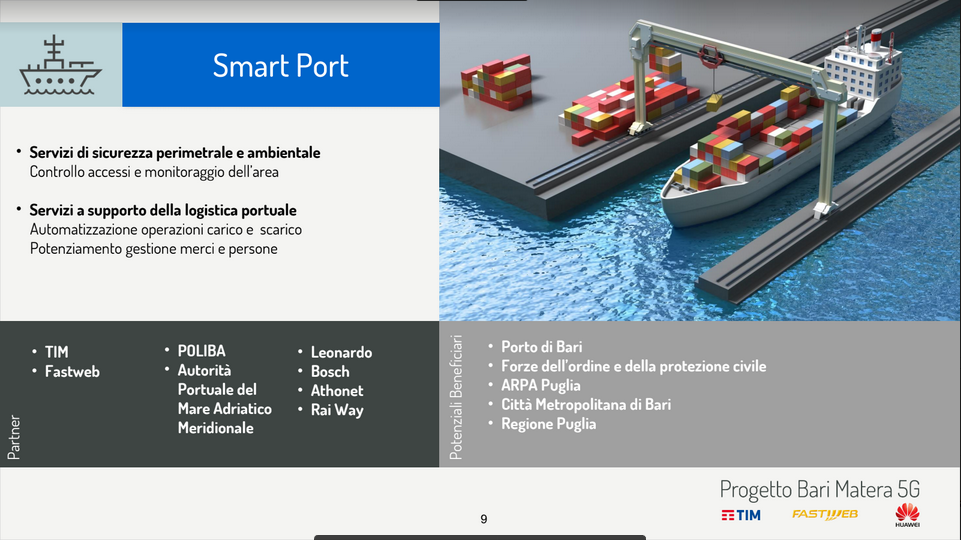 TIM, Fastweb e Huawei accendono il 5G a Matera
