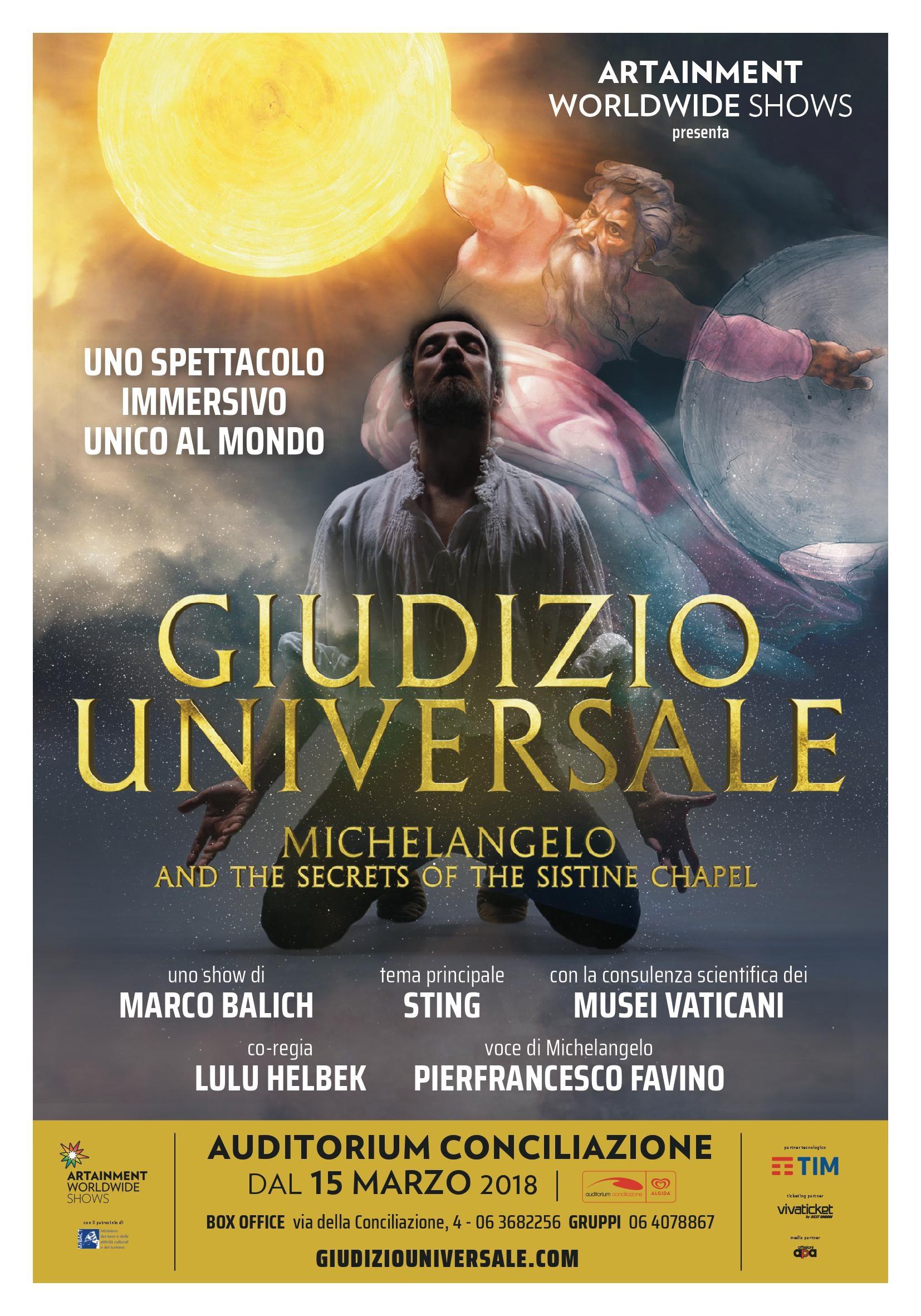 Photo of Tim: excellence partner dello spettacolo del Giudizio Universale di Michelangelo e il Segreto della Cappella Sistina